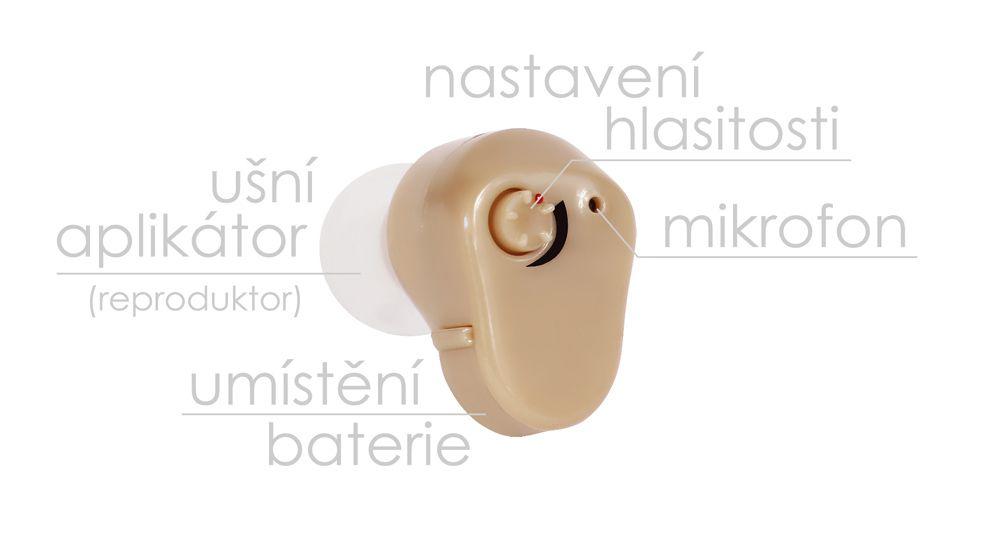 Ušní naslouchátko BeautyRelax BR-150