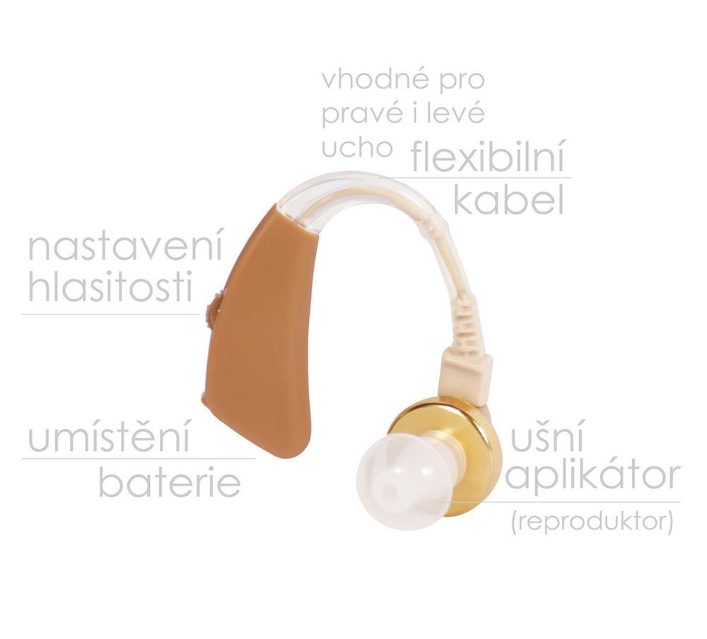 Ušní naslouchátko BeautyRelax BR-160