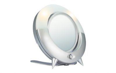 Kosmetické zrcátko s LED BR-525