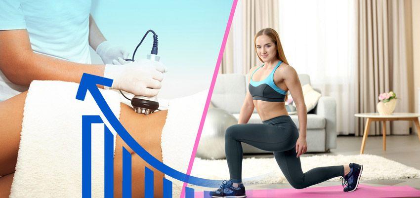 Ultrazvuková kavitace formuje postavu efektivněji než cvičením!